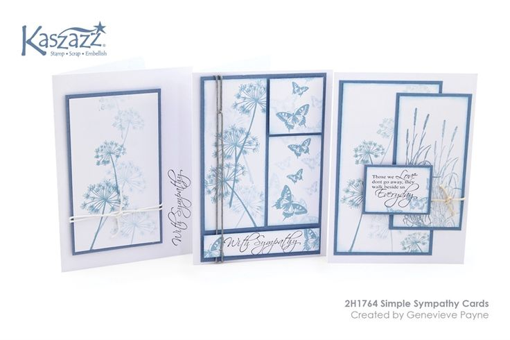2H1764 Simple Sympathy Cards