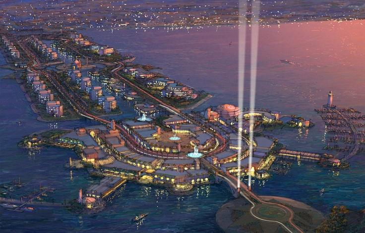 "Macro progetti - ""The Palm"" - Dubai - U.A.E."