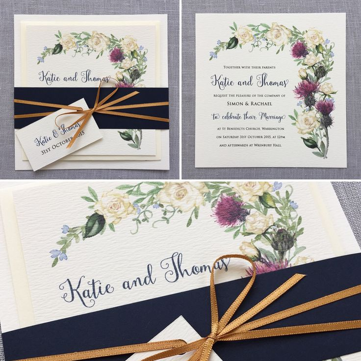 handcrafted wedding stationery uk%0A Thistle and White Rose design  wedding  love  Scottish  english Beautiful wedding  stationery lovingly made and designed in the UK