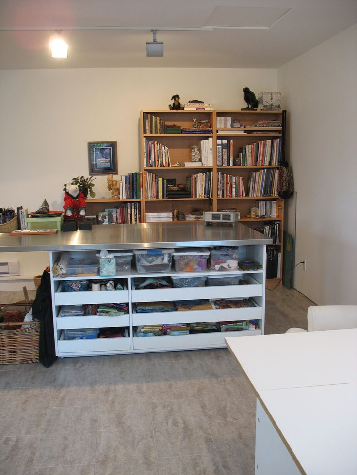Quilting Room Design Ideas Part - 41: Studio Finished