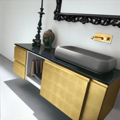 Тумба под раковину с раздвижной дверцей #birex #italy #furniture #мебель #салон_мебели #идеал_интерьер #арбат