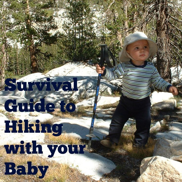 Some great tips for hiking with your little one, including the best baby carriers for hiking.