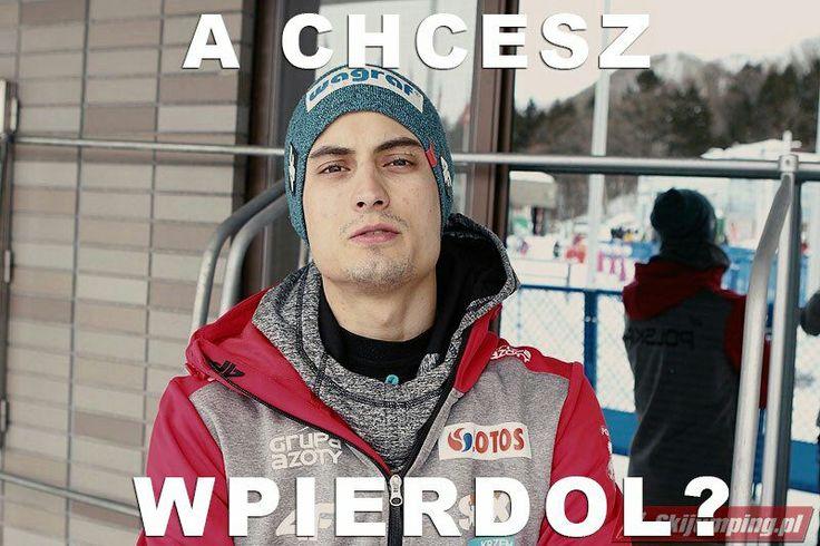 Najlepsze i najśmieszniejsze memy ze świata skoków  narciarskich.   P… #losowo # Losowo # amreading # books # wattpad