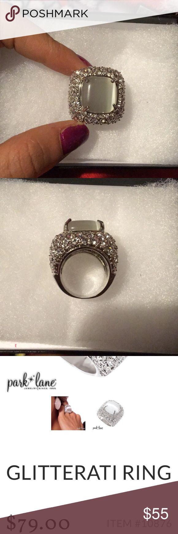Glitterati ring Beautiful Park Lane ring size 6 Park Lane Jewelry Rings
