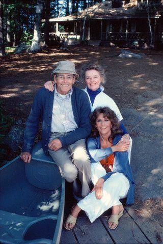 Henry Fonda Jane Fonda Katharine Hepburn On Golden Pond