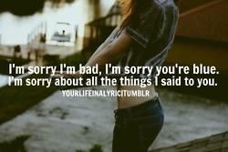 Sorry - Buckcherry