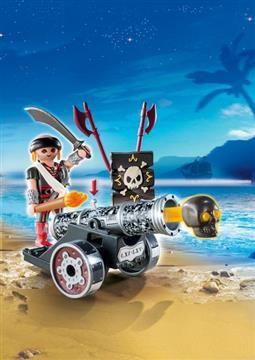 Playmobil Zipper Bag Μαύρο Κανόνι Με Πυροβολητή (6165) 9,99