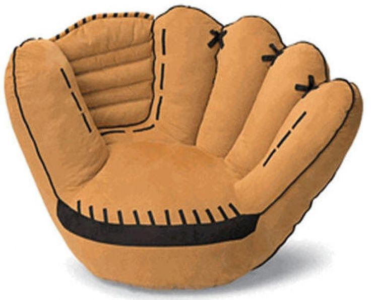 baseball glove bean bag chair,1000 images about bringing the game home  literally on with - 554 Best Media Room <3 Images On Pinterest Architecture, For The