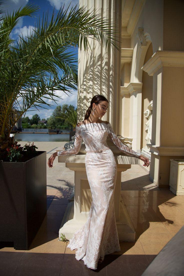 Suknia ślubna Daniela - piękna, delikatna koronka w eleganckiej i kobiecej sukni, dostępna w Galerii Ślubu Kamea