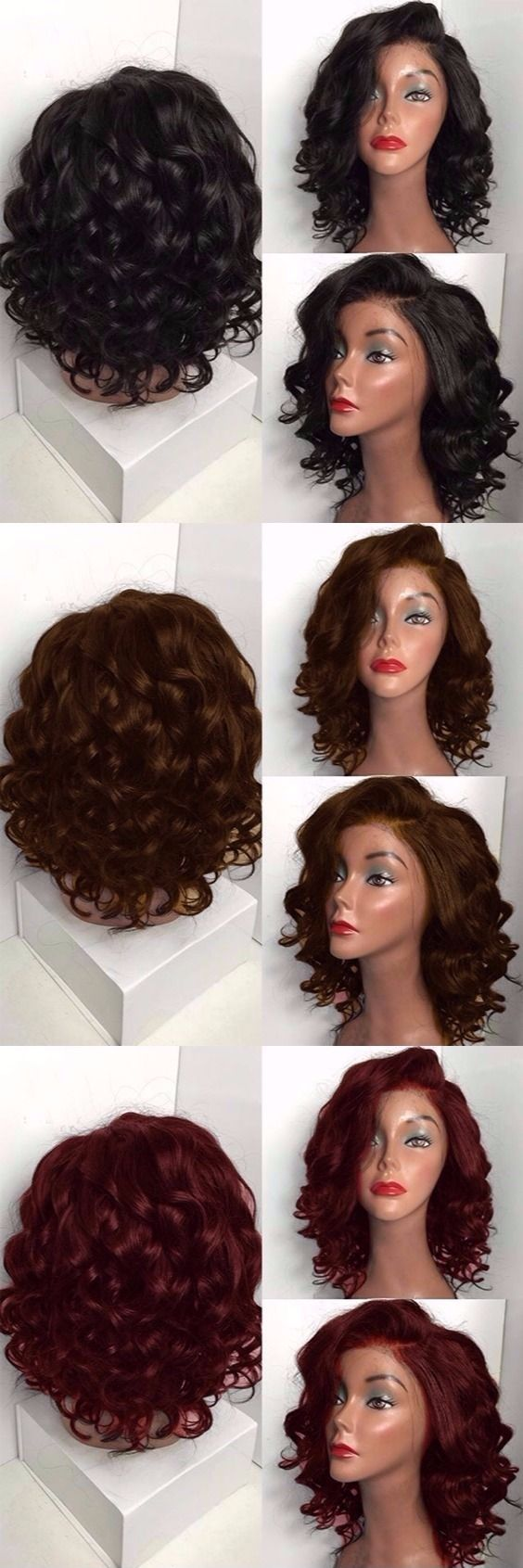 Short Side Bang Layered Straight Synthetic Wig