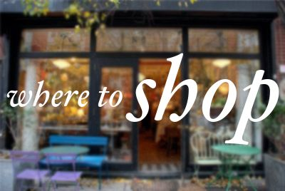 NYC Guide: My 10 Favorite Shops | A Cup of Jo