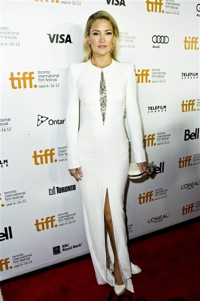 "Kate Hudson arrives at the premiere of ""The Reluctant Fundamentalist"" at the Toronto International Film Festival"