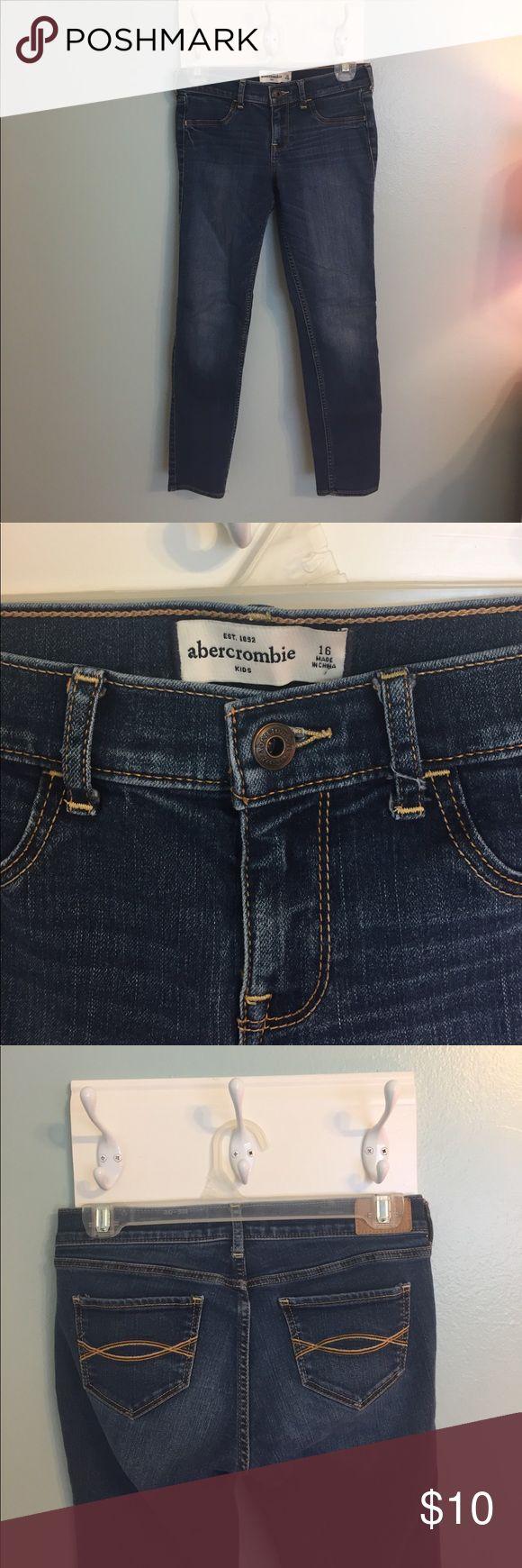 Abercrombie Kids girl jeans Size 16 girls blue jeans Jeans Skinny