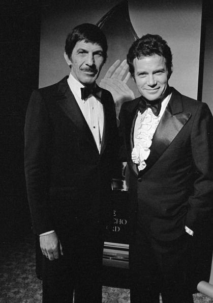 William Shatner and Leonard Nimoy -  1980
