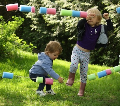 Pool Noodle Abacus for Summer Learning