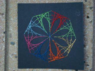 7th grade string art (with no nails!)                              …