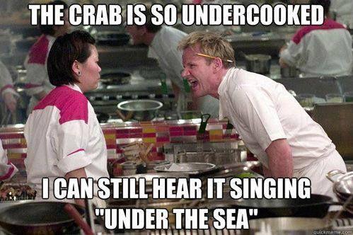Haha!  I love Gordon Ramsay.