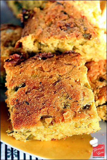 Pırasalı Mısır Ekmeği | Yemek Cini