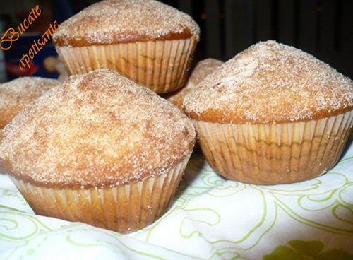 Muffins visine,scortisoara