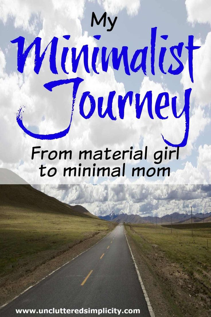 My Minimalist Journey: From Material Girl to Minimal Mom. Bittersweet story of one woman's transition from poverty to plenty. Finally finding fulfillment through a simple life.