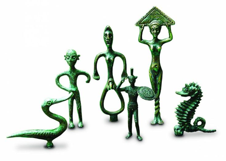 Gruppo piccoli bronzetti