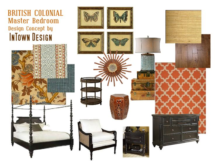 Taking inspiration from classic british colonial style an for British colonial bedroom ideas