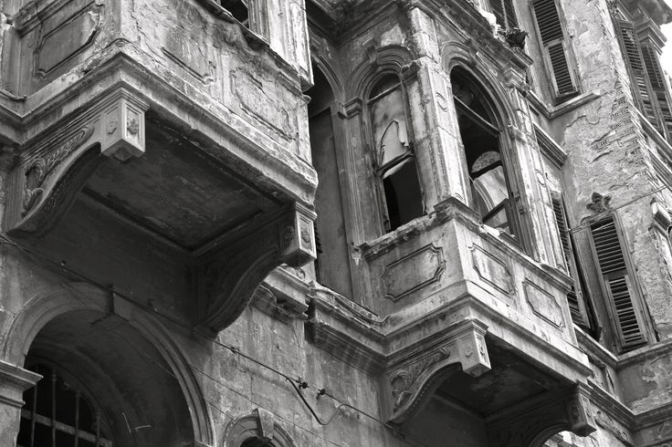 Architecture of the run-down neighborhood Tarlabasi (Istanbul)  Turkey, architecture, Istanbul, black and white, photography