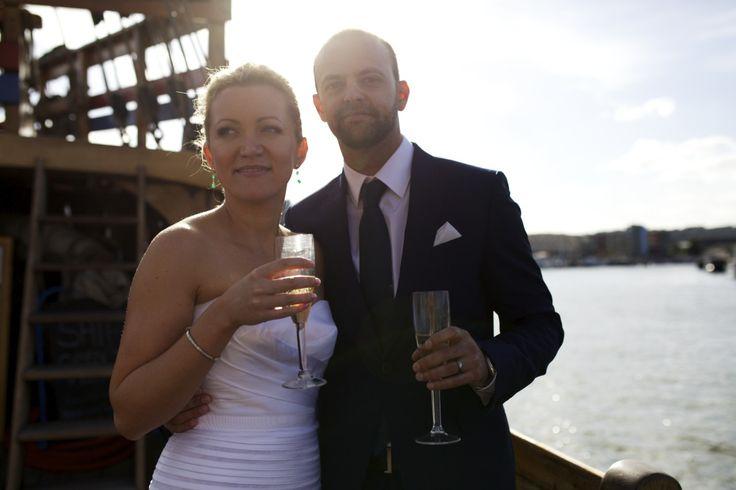Wedding at Bristol Harbour