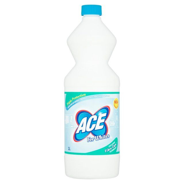 Morrisons Ace For Whites 1l Product Information Cleaning Hacks Cleaning White Shirts Stain Remover