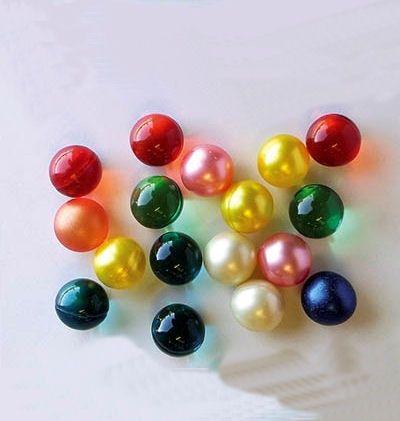 Bath balls oil
