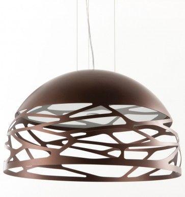 Kelly hanglamp [SO1] Medium Dome brons