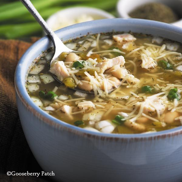 Gooseberry Patch Recipes: White Bean Chicken Chili from 5 Ingredients ...