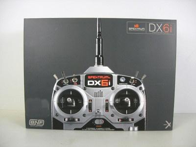 Spektrum DX6i DSMX 6 CH Full Range No Servo MD2 SPM6610 | eBay