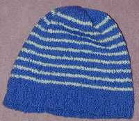 Free Cotton Knitting Patterns : Cotton Knit Hat for Women Knitted Chemo Hats Pinterest Free pattern, La...