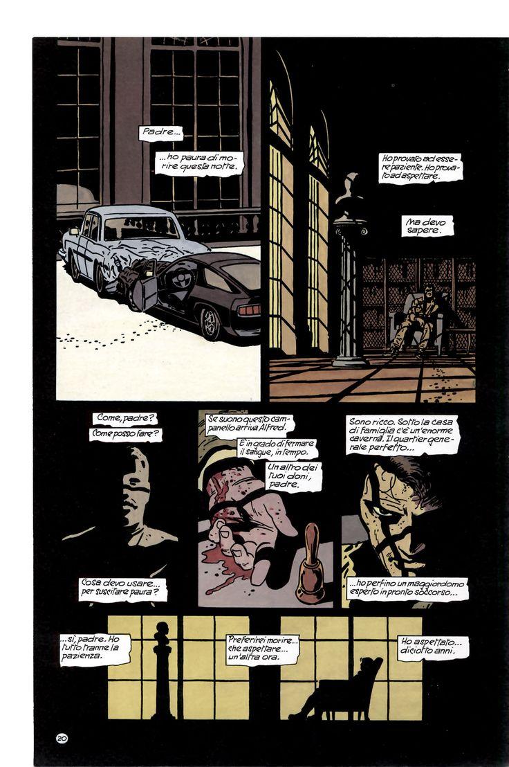 Frank Miller/David Mazzucchelli- Batman  Year One (DC Comics)