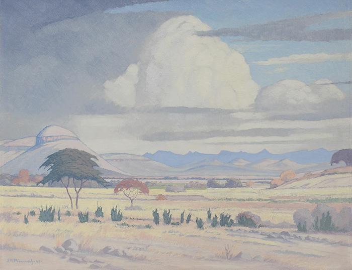 JH Pierneef: Lydenburg Distrik, Transvaal - JH Pierneef
