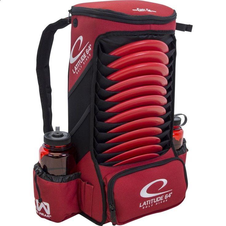 Golf Bags - Latitude 64 Easy-Go Backpack Disc Golf Bag
