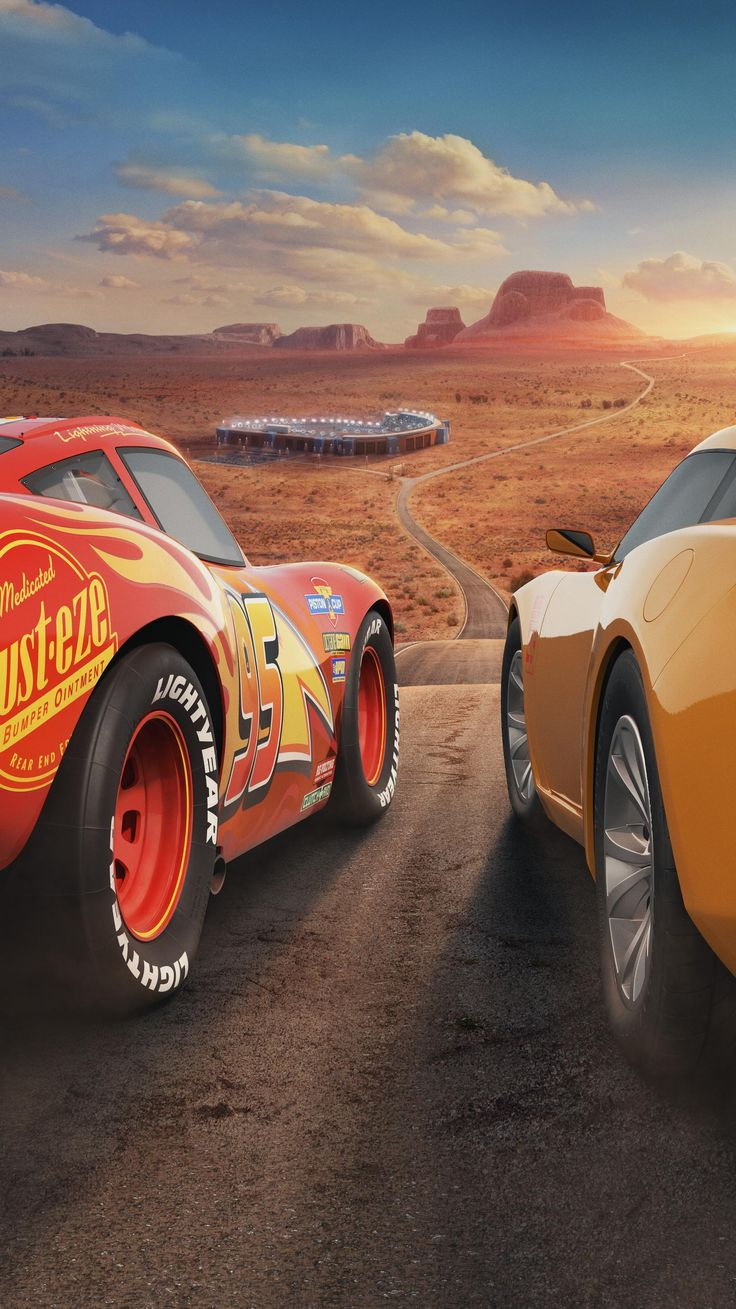 Cars 3 (2017) Phone Wallpaper