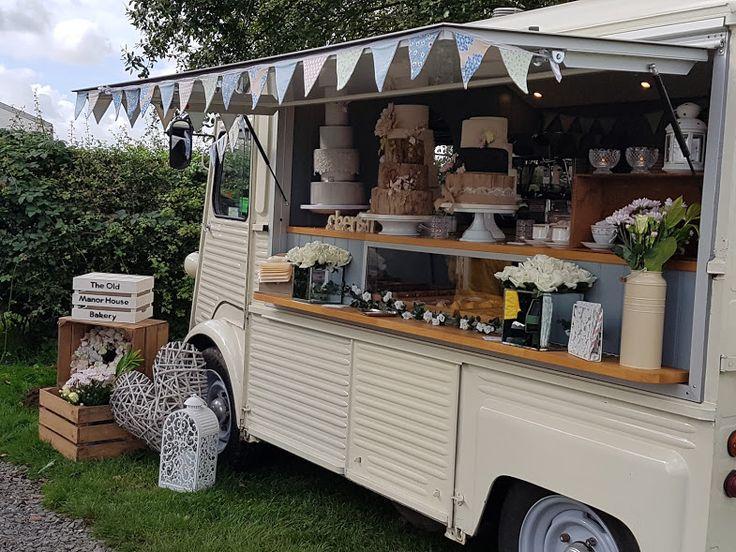 Libby-Loo Mobile Bakery Mobile Bakery Mobile Coffee Van Mobile Coffee and Cake Van Vintage Citroen H Van Mobile Tea room The Old Manor House Bakery