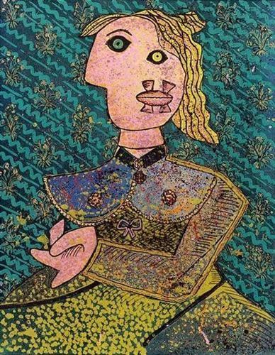 Hommage à Picasso - Enrico Baj