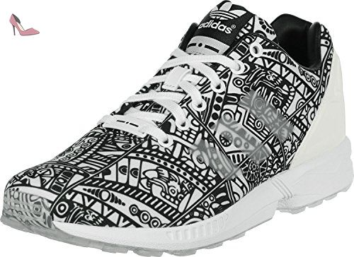 Shoes ZX Flux Ftwr White/Core Black 2016 Adidas Originals 44 2/3 Ftwr