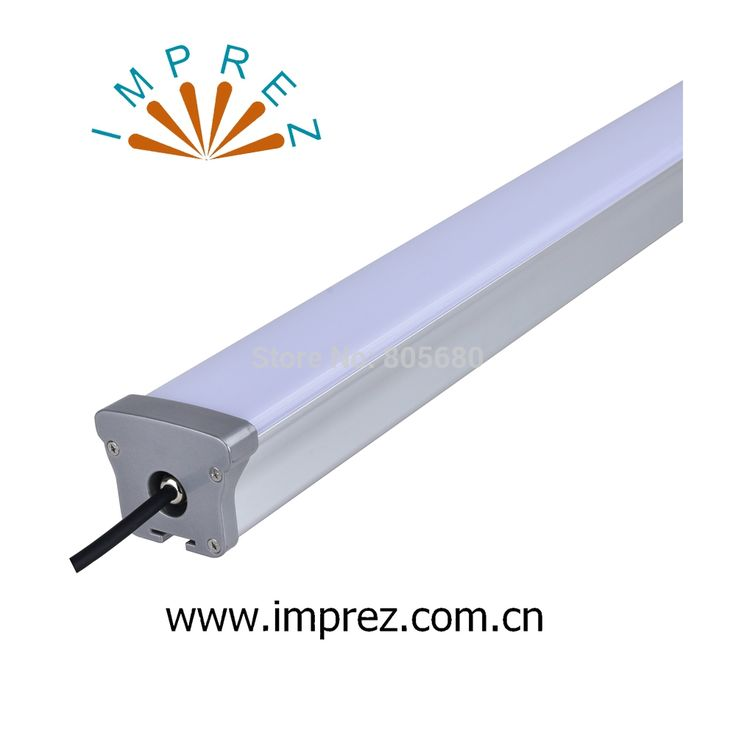 563.00$  Buy now - http://ali08z.worldwells.pw/go.php?t=32656211211 - 40w 1200mm 4ft led linear light driverless led tri-proof lights Ip65 use for parking lot railroad track workshop 5years warranty