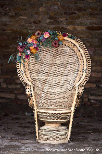 Shooting éditorial Boho Folk | La Bohème | Location de décoration et mobilier vintage