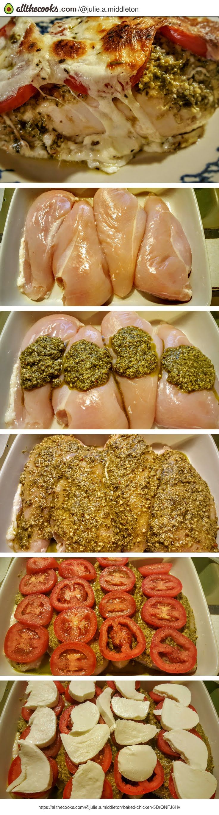 "Baked Chicken! ""The flavors burst in your mouth from start to finish - fresh tasting & easy to prepare"""