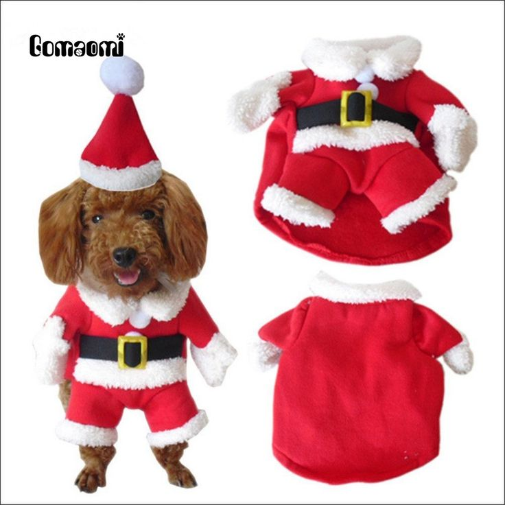 Gomaomi Pet Christmas Costumes Dog Clothes Hoodie Suit with Cap //Price: $9.95 & FREE Shipping //     #VAPE