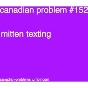 Yet ANOTHER Canadian problem.
