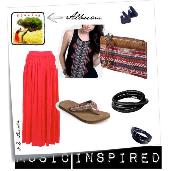 """Outfit inspired by cd: """"Chambao- Con Otro Aire""""  Read the post: http://litalospagnola.blogspot.it/2013/08/i-look-ispirati-ai-dischi-feria-de.html  #music #fashion"""