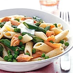 Penne with smoked trout and asparagus. This will be dinner soon.: Yum Yums, Asparagus Recipes, Favorite Recipes