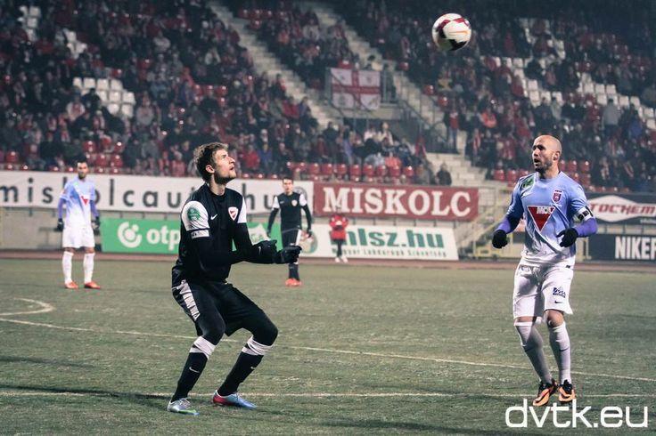 Bacsa Patrik a Videoton elleni Magyar Kupa nyolcaddöntő visszavágó mérkőzésen