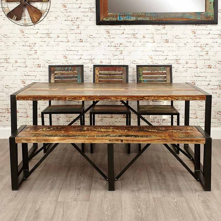 17 Best Ideas About Dining Table Bench On Pinterest: 17 Best Ideas About Large Dining Tables On Pinterest